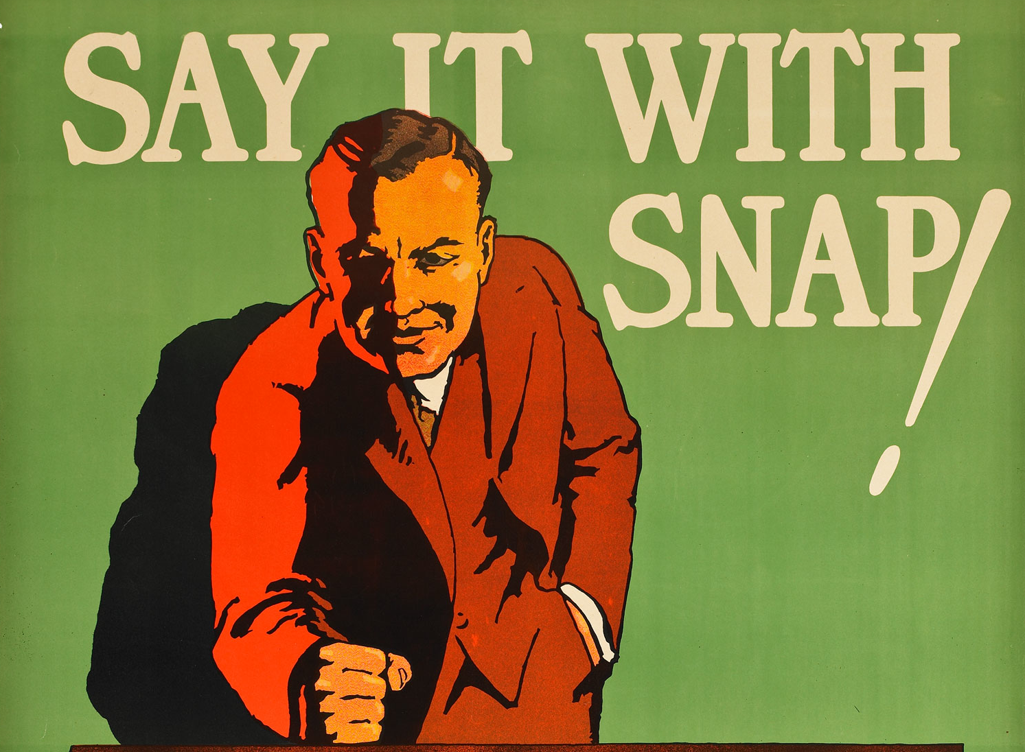 Say it with snap!